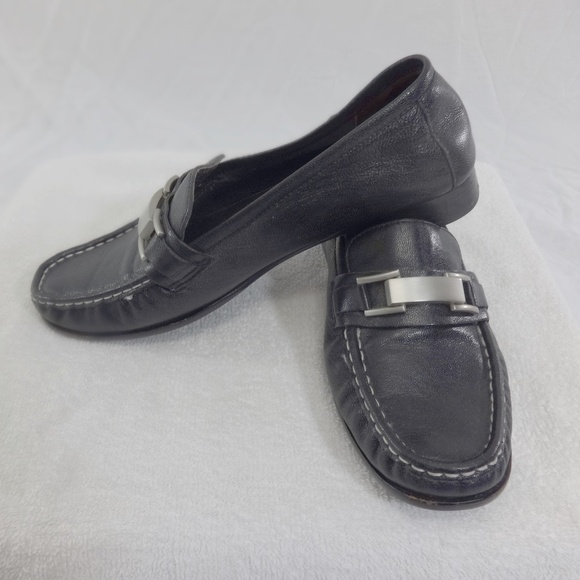 Cole Haan Shoes | Womens Black Leather